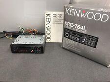 Kenwood Krc-754L Old Classic Vintage Radio Cassette Player Cd Changer Control