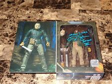 Friday The 13th Part VI Signed Jason Action Figure NECA C.J. Graham Horror Movie