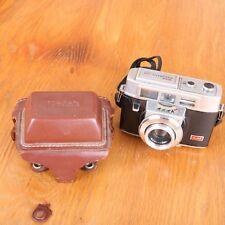 Vintage Kodak Automatic 35F Camera With Field Case Untested