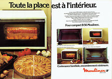 publlicité Advertising 028  1979   four compact B56 Moulinex (2pages)