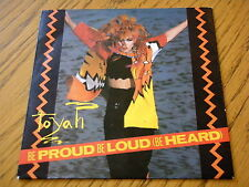 "TOYAH - BE PROUD BE LOUD  7"" VINYL PS"