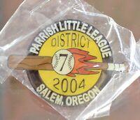 Little League Pin Salem Oregon D7 Sprague 2019 WS Northwest Team Parrish LL Pin