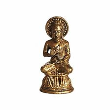 Small Healing Medicine Thai Brass Sculpture  Buddha Statue
