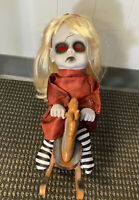Animated Rocking Scary Haunted Creepy Horror Gothic Occult Doll Evil Demonic
