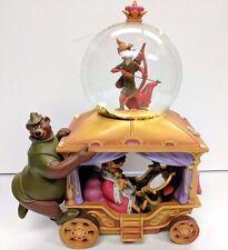 Disney Store Exclusive Robin Hood Musical Snow Globe Rare Retired HTF Flawed