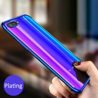 For Huawei Honor 10 9 8 Luxury Ultra Thin Plating Soft TPU Clear Back Case Cover