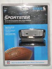 Sirius Sportster Home Docking Station w/Homne Antenna~Model SP-H1~New & Sealed