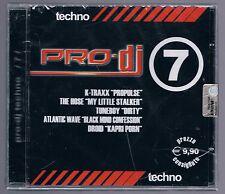 PRO DJ TECHNO vol. 7 CD F.C. SIGILLATO!!!