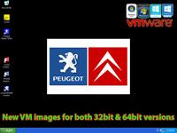 VMware PP2000 V25 & Lexia3 V48 Multilanguage for Peugeot Citroen Lexia interface