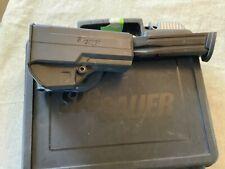Genuine Sig Sauer P250  Factory Gun Box Magazine & Holster Used