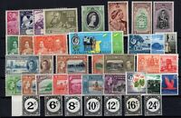 DA145802/ TRINIDAD & TOBAGO – YEARS 1937 - 1961 MINT MNH / MH SEMI MODERN LOT