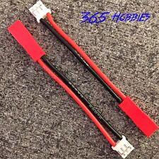 menge - (2) e-flite blade 130x (umx) auf jst lipo adapter (2 zoll) 20awg litze