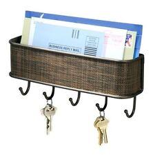 Conjunto de estante para llaves y correo