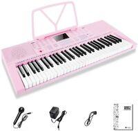 Electrical Piano Keyboard 61 Mini Keys Portable Music Keyboard for Beginners
