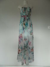 Forever New Silk Strapless Maxi Dress Size 6