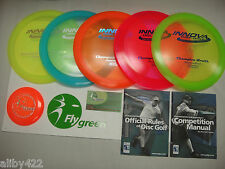 Innova Deluxe Champion Plastic 5 Disc Ultimate Golf Disk Set Starter 2 Advanced