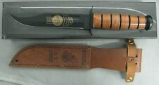 KA-BAR KNIFE 9177 ARMY 115TH ANNIVERSARY LEATHER SHEATH GOLD ETHED USA NEW KABAR