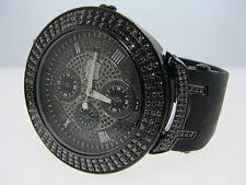 4.0 CT TECHNOLINK/JOJO/JOE RODEO BLACK 3R DIAMOND WATCH