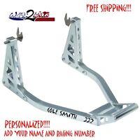 Aluminum Sportbike Motorcycle Rear Swingarm Spool Stand Honda CBR1000RR CBR600RR