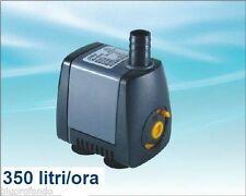 POMPA SOMMERSA RICICLO ACQUA PER ACQUARIO ACQUARI 5 watt 350LT/H HJ531