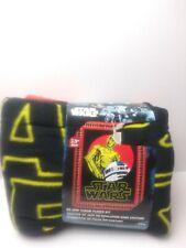 New Star Wars Robots No-Sew Fleece Throw - Blanket Kit. Multicolor. D.