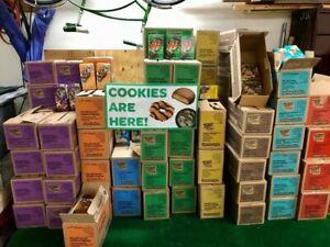 2021 Girl Scout Cookies!! Buy a Box or Case *All Varieties*Little Brownie Bakers