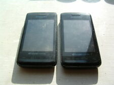 Lot of 2:Samsung Galaxy Prevail SPH-M820 - Obsidian Black Parts & Repair AS IS