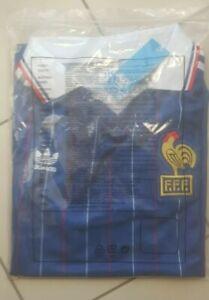 Maillot de foot équipe de France (1982) taille M neuf envoi sous 24h
