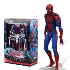 15cm Marvel SpiderMan The Amazing Spiderman Figure Figma 199 Action Figure Toy
