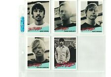 Foo Fighters 2003 One By One Baseball Card Set Mint Rare Dave Grohl Nirvana