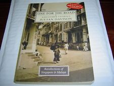 """""""GOOD COND"""" ONE FOR ROAD AND OTHER STORIES SINGAPORE & MALAYA by JULIAN DAVISON"""