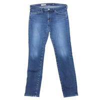 AG Adriano Goldschmied Stilt Jeans 29 Womens Cigarette Leg Low Rise Medium Wash