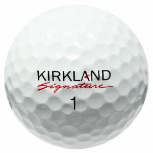 120 Kirkland Signature Mix Used Golf Balls AAAAA/Mint *Free Shipping!*
