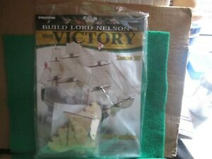 BUILD LORD NELSON`S HMS VICTORY (ISSUE 15 WITH PART) 1:84 SCALE NEW
