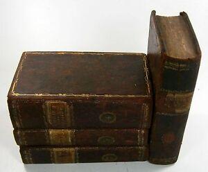 Rousseau, J[ean]: Émile, Ou De L'Education. Tome Premier - Tome Quatrieme. 1799