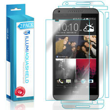 2x iLLumi AquaShield HD Front Screen + Back Panel Protector for HTC Desire 816