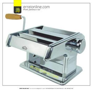 Macchina per la pasta manuale DCG PM1500 compreso di doppio rullo da taglio