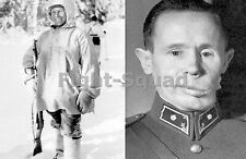 WW2 Picture Photo Simo Häyhä White Death Most Successful Sniper 505 Kills  2133