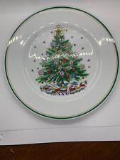 Salem Christmas Eve 10in Dinner Plate NEW never Used.