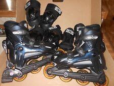 RollerBlade Triax ABT2 Brake Womens sz 8 Dark Blue Inline Skates 74mm Wheels NEW