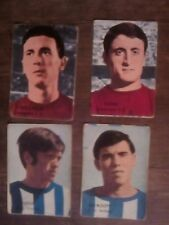 Cromos de Fher temporada 1968-69 del Pontevedra y Málaga