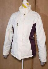 Sunice Science Style Waterproof Ski Jacket/Coat Sz M white/purple, breathable