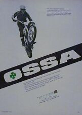 1971 OSSA STILETTO Original Motorcycle Ad