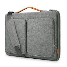 13-13,3/15-15,6/16 Zoll Laptop Hülle Tasche Schultertasche 360° Rundumschutz