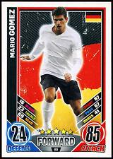 Mario Gomez Germany #80 England 2012 Match Attax TCG Card (C206)