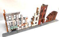 Dioramas Plus 1/35 Giant WWII Ruins Building Kit + Sidewalks Military Diorama