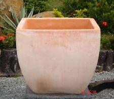 Blumentopf ca.30 cm Terracotta Garten Terrakotta Deko Vase Blumenkübel Übertopf