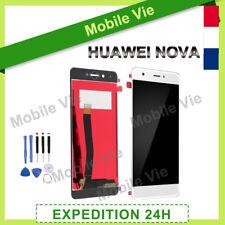 VITRE TACTILE + ECRAN LCD ORIGINAL PRET-A-MONTER POUR HUAWEI NOVA BLANC + OUTILS