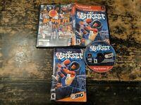 NBA Street (Sony PlayStation 2, 2001) Complete w/Manual CIB Works