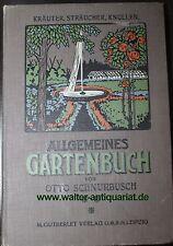 Otto Schnurbusch Allgemeines Gartenbuch Bd.III 1914 Schnittblumen Stauden...